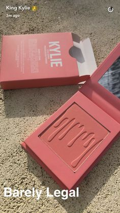 "Kylie Cosmetics Blush in the shade ""Barely Legal"" - Tap the LINK now to see all our amazing accessories, that we have found for a fraction of the price Kylie Makeup, Love Makeup, Skin Makeup, Makeup Inspo, Makeup Inspiration, Makeup Brushes, Kylie Jenner Makeup Products, Buy Makeup, Makeup Brands"