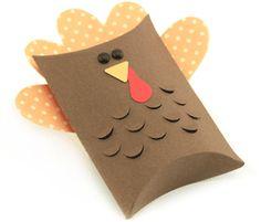 View Design: Turkey pillow box