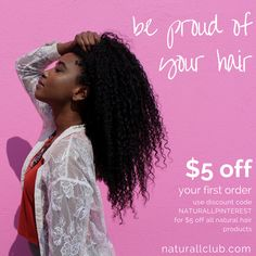 Be proud of your hair. We're offering all our Pinterest followers $5 off your first order of fresh fruit hair products. Use code NATURALLPINTEREST to receive your $5 discount. Your hair is beautiful! Treat it with love using natural ingredients. Natural deep conditioners are part of a healthy hair regimen- they moisturize, restore, and revive hair.