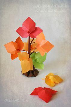 Origami Autumn