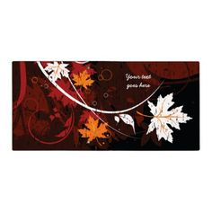Thanksgiving autumn leaves-maple custom products 3 ring binder #thanksgiving #binders
