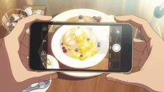 kimi no nawa Aesthetic Gif, Aesthetic Videos, Aesthetic Backgrounds, Anime Bento, Anime Gifs, Anime Art, Noragami, Casa Anime, Animation