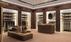 Vakko on Behance Retail Interior Design, Retail Store Design, Boutique Interior, Commercial Interior Design, Commercial Interiors, Bathroom Interior Design, Lingerie Store Design, Clothing Store Design, Modegeschäft Design