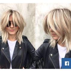 "What do you think of Julianne Hough's new cut? We are loving the ""shag"" #juliannehough #vibesalonmedispa #shag #hair"