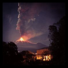 Nature erupts #Etna