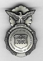 US Air Force Military Police Badge
