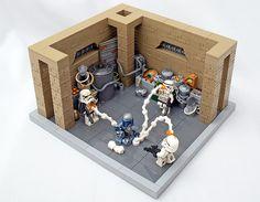 Lego Stormtrooper, Boba Fett Helmet, Lego Fire, Micro Lego, Lego Construction, Cool Lego Creations, Chocolate Art, Lego Projects, Legos