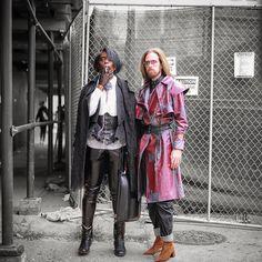 """Jonzu on Instagram: """"Castlevania Vibez for NYFW SS19 shot by @crkphotocraft #Nyfw #menswear #streetstyle #fashionweek #nyfw #ss19 #nyfwss19 #serenity…"""""""