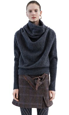 Vendome mohair dark grey melange from Acne Studios. Love this so much, just wish it were affordable...
