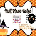 FREEBIE: Have fun reviewing and practicing place value concepts with the fall/Halloween themed packet.  It includes posters for comparing and ordering numbe...