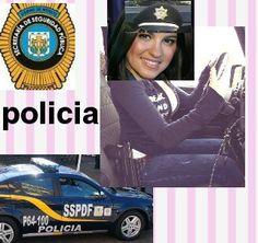 Fotomontaje policia