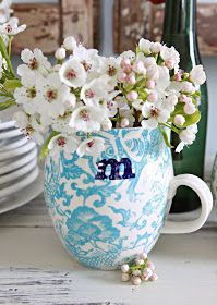 French Larkspur: Entertaining and a little Giveaway...