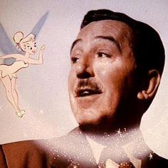 Walt Disney and Tinkerbelle