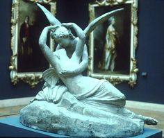 psyche revived by cupid's kiss 1787 by antonio canova gif - Google Search