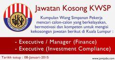 Jawatan Kosong KWSP Terkini Januari 2015. Kerjaya di Kumpulan Wang Simpanan Pekerja.