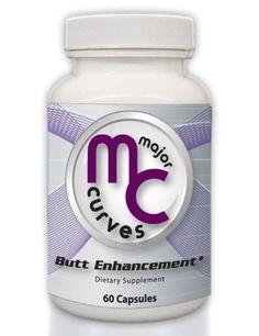 Major Curves Butt Enhancement | Enlargement Capsules (1 Bottle) Major Curves, http://amzn.to/1jfSGuk