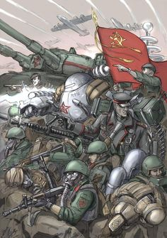 For the Soviet Union! poster colored version image - Red Alter mod for Tiberium Wars Character Concept, Character Art, Concept Art, Soviet Art, Soviet Union, Arte Steampunk, Apocalypse Art, Propaganda Art, Command And Conquer