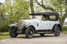 1926 Rolls-Royce 20hp Barrel-body Tourer  Coachwork by Barker. Chassis no. GOK2 Engine no. G1572