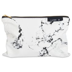 Buy Luxe B Marble Big Makeup Bag Gold Zipper Travel Size Large Cosmetic Cute Makeup Case Train Bags Pouch Kit Brush Organizer Toiletry Travel Fashionable Marble Accessories For Women 11 X 7 inches Big Makeup Bags, Large Makeup Bag, Cute Makeup, Hanging Makeup Organizer, Make Up Organizer, Eye Makeup Tips, Makeup Case, Makeup Pouch, Makeup Ideas