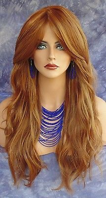 LONG-SLIGHTLY-WAVY-WIG-HEAT-SAFE-SKIN-TOP-CLR-F30-27-GORGEOUS-STRIKING-STYLE-112