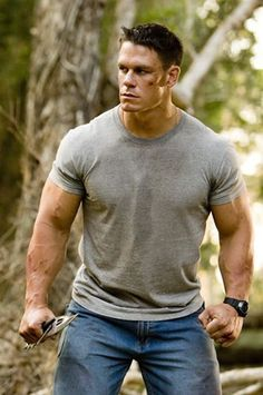 John Cena - How I long for the Chain Gang Soldier days. His kicking ass and taking names, no good rapping, five knuckle shuffles and all.