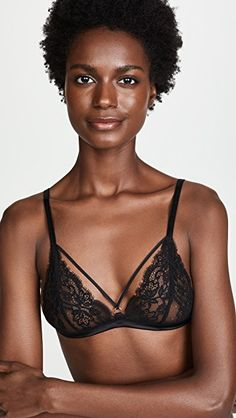 online shopping for Coco Mer Seraphine Triangle Bra from top store. See new offer for Coco Mer Seraphine Triangle Bra Bra Hooks, Dark Skin Beauty, Triangle Bra, Female Models, Women Models, Poses, African Beauty, African Art, Black Models