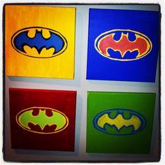 My batman pop art.
