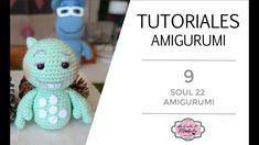🍀 TUTORIAL AMIGURUMI 9: SOUL 22 Amigurumi | Película SOUL Disney-Pixar | PASO a PASO - YouTube