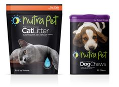 Nutra Pet - Dany Campo - Nutra Pet Packaging of the World: Creative Package Design Archive and Gallery: Nutra Pet - Pet Branding, Cool Packaging, Pet Fashion, Creativity And Innovation, Dog Chews, Creating A Brand, Packaging Design Inspiration, Double Exposure, Dog Design