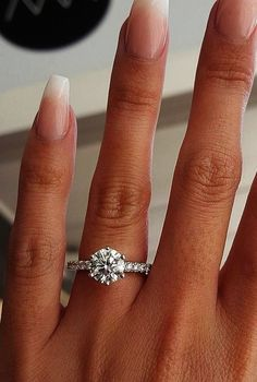 TOP Engagement Ring Ideas See more: #weddings