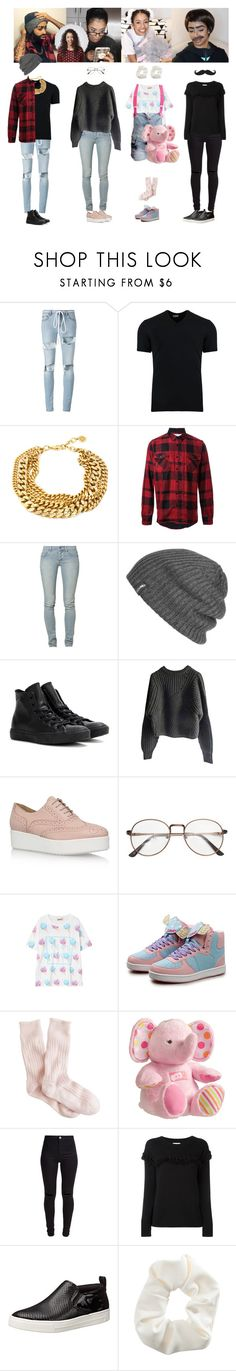 """""""Liza Koshy"""" by everysimpleplan ❤ liked on Polyvore featuring Off-White, Dolce&Gabbana, Sacai, Cheap Monday, Outdoor Research, Converse, Isabel Marant, Carvela Kurt Geiger, WithChic and J.Crew"""