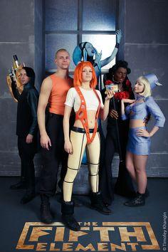The Fifth Element - All together - 2014 by Tanuki-Tinka-Asai.deviantart.com on @DeviantArt