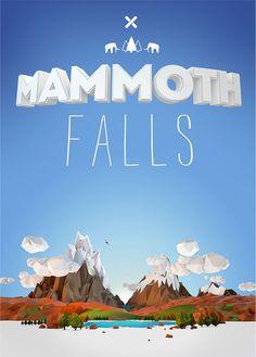 Mammoth Falls. Prints available at http://thefineprint.co.za/CRFT  - Aldo Pulella