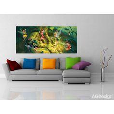 WallandMore Disney Fairytale Wall Decal Mural For girls Bedroom W by H - Wall Mural Disney Fairytale. Disney Tees, Shirt Quilt, Girls Bedroom, Wall Murals, Fairy Tales, Wall Decor, Couch, Illustration, Wood Spa