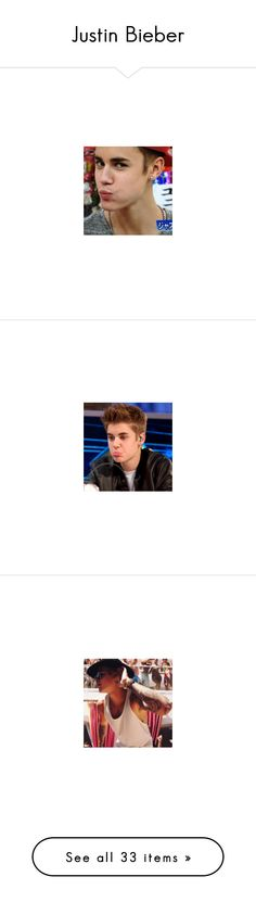 """""""Justin Bieber"""" by inbaileymind ❤ liked on Polyvore featuring justin bieber"""