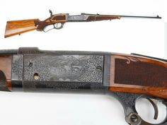 "GUN OF THE DAY –Engraved Savage Model 1899 Rifle  For smokeless, lever-action rifles at the turn of the 20th century there was a triumvirate – Marlin, Savage and Winchester.  Our GOTD comes in the middle and represents the higher end of Savage shoulder arms.  Engraved with deluxe wood and a tang sight, this .250-3000 M99 also features a ""cartridge counter"" – handy to keep track of just how many rounds were left in the six-shot rotary magazine.  Savage's lever-actions, like Marlin and…"