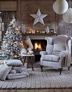 Ale przytulnie! 😍 U Was w domach czuć już grudniową atmosferę czy jeszcze nie? :)   Foto: http://bit.ly/2fQLXMt