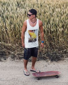 Surfer Style in the Cornfield - Wicked Ares Wooden Sunglasses with engraved Tribal Design Wicked, Surfer Style, Wooden Sunglasses, Making Out, The Darkest, Tank Man, Model, Instagram Posts, Mens Tops