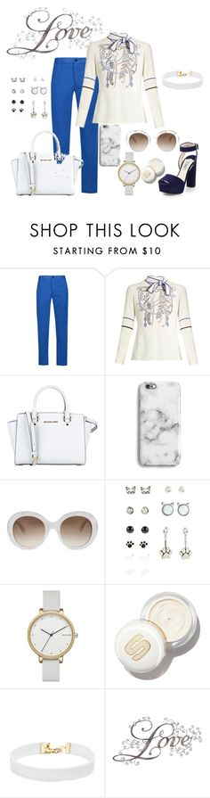 """""""Untitled #766"""" by the-luxurious-glam ❤ liked on Polyvore featuring Étoile Isabel Marant, Peter Pilotto, MICHAEL Michael Kors, Gucci, Skagen and Vanessa Mooney"""