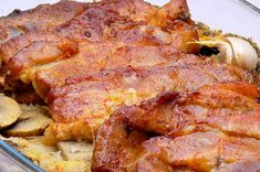 Steak, Bacon, Pork, Food And Drink, Breakfast, Kale Stir Fry, Morning Coffee, Steaks, Pork Chops