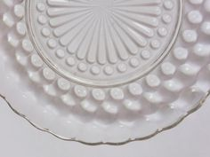 1937 Anchor Hocking Hobnail Bubble Clear Depression by EdenKitsch
