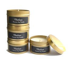 Limited Edition Gold Travel Tins