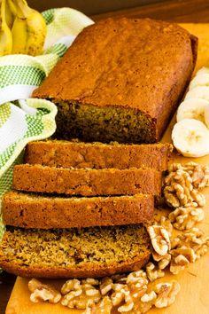 banana nut bread free recipe