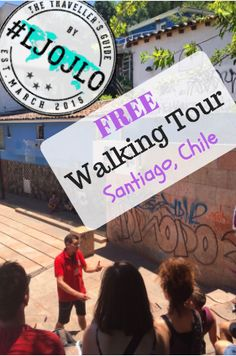 Santiago's Free Walking Tour - In the heart of Santiago, tourists are provided with the opportunity to partake in a free walking tour.