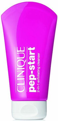 Clinique Pep Start 2-in-1 Exfoliating Cleanser
