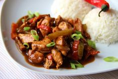 Kung Pao Chicken, Chinese, Ethnic Recipes, Food, Sweet Sour Chicken, Chinese Food, Essen, Meals, Yemek