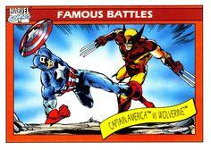 Captain America vs Wolverine