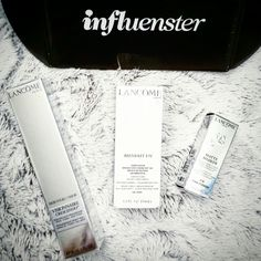 If you haven't heard of Influenster, now you have! They will send you complimentary things for you to review, like this Lancôme Voxbox! Can't wait to try and got it all complimentary! #SkinIntervals #ShakeApplyDry #contest #LancomeOfficial #spon  #influenster @InfluensterVox @influenster @LancomeOfficial