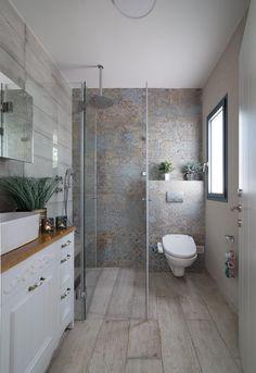 Modern White Bathroom, Modern Bathroom Decor, Bathroom Design Small, Bathroom Interior Design, Bathroom Lighting Inspiration, Bathroom Design Inspiration, This Old House, Restroom Remodel, Home Design