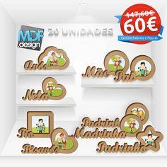 PACK Promoção 20 Unidades de Moldura Familiar  Sci Figuras pode escolher os familiares e as figuras da moldura livremente!!!!  http://ift.tt/2hph98L - http://ift.tt/29XdScI